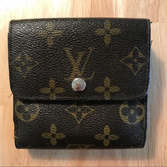 fdde99419865 Louis Vuitton Handbags - Louis Vuitton Portefeuille Elise monogram wallet.